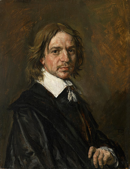 A painting falsely attributed to Frans Hals