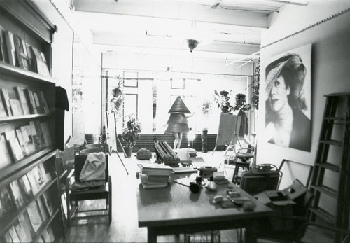 A photograph of General Idea's Toronto studio space
