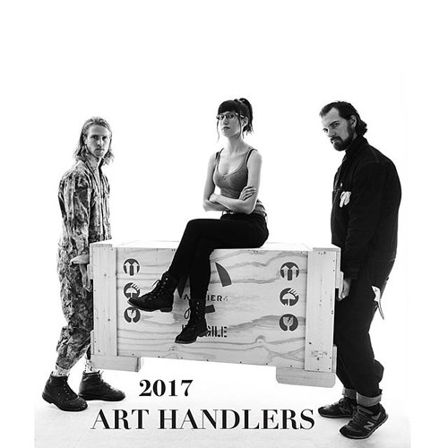 The cover of the 2017 Art Handlers Calendar