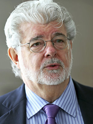 A photo of George Lucas