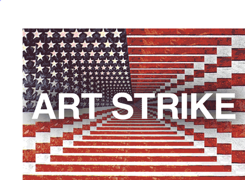 A screen capture of a .GIF for the J20 Art Strike