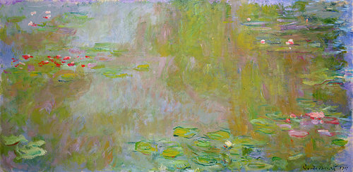 Monet's waterlilly painting