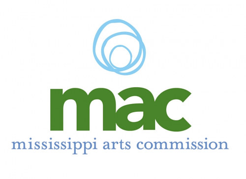 A logo for the Mississippi Arts Commission