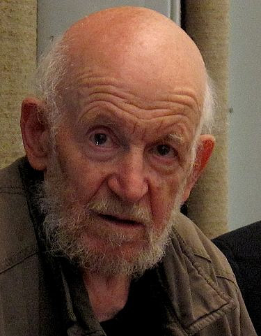 A photograph of the late Gustav Metzger