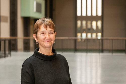 A photograph of Frances Morris, new director of the Tate Modern