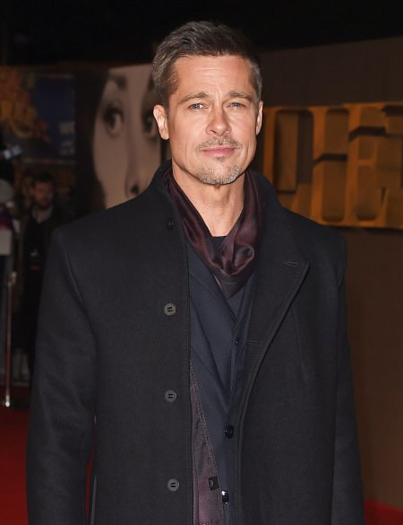 A press photo of Brad Pitt