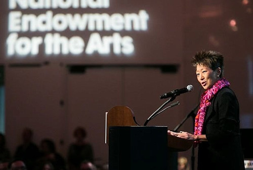 A photo of NEA chairman Jane Chu