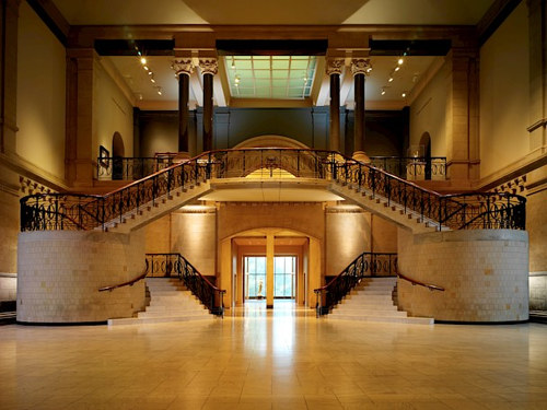 A photo of the interior of the Cincinnati Art Museum
