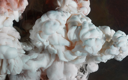 An abstract artwork by Kim Keever