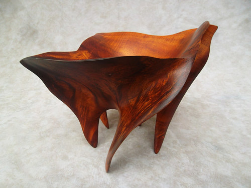 A photo of a piece of woodwork by David Bencomo