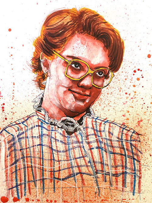 An illustration of Barb from Stranger Things