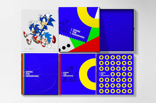 A look at the new Sonic The Hedgehog 25th Anniversary Art Book