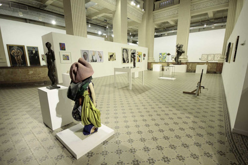 An installation view of Queermuseum, an exhibition at Santander Cultural in Brazil