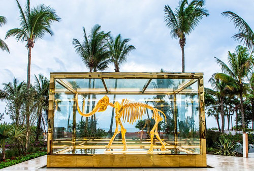 Damien Hirst's Gone But Not Forgotten