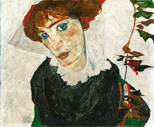 Egon Schiele's portrait of Wally Neuzil