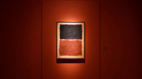 A forgery of a Mark Rothko piece
