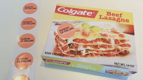 A photo of a box of Colgate lasagne