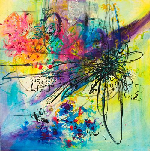 Color And Energy Art By Skai Fowler Artist Run Website