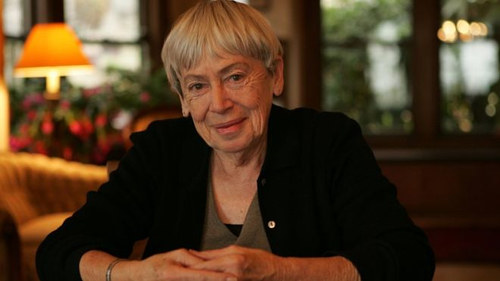 A photograph of Ursula K. LeGuin