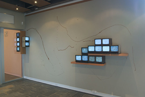 An installation view of CHART