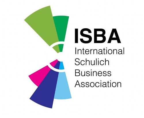 A logo design for the International Schulich Business Association