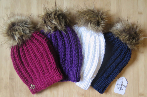 A photo of a selection of handmade hats