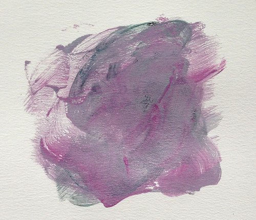 Image of abstract print on paper