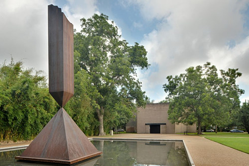 The Broken Obelisk at Rothko Chapel in Houston