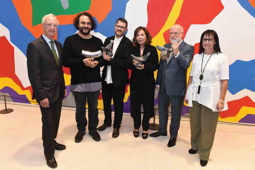 The 2017 Joan Miro Prize ceremony