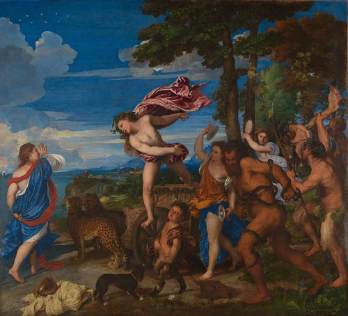 Bacchus and Ariadne, by Titian