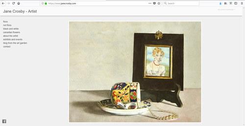 The Art Portfolio Of Watercolour Painter Jane Crosby Artist Run