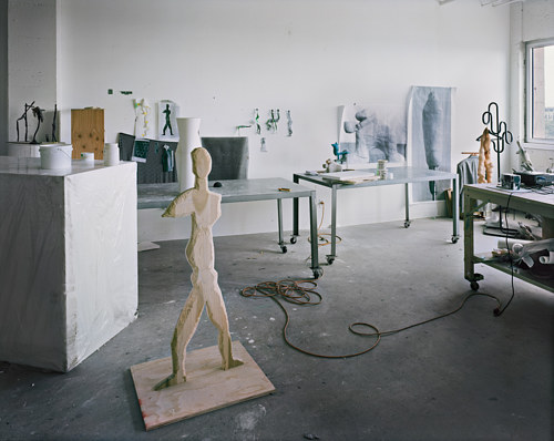 A photo of the studio of Valerie Blass