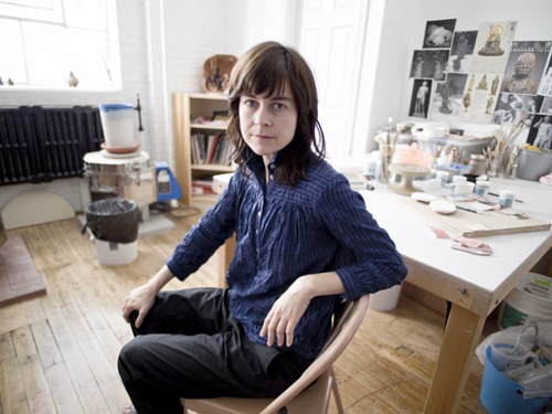 A photo of Sharyl Boyle in her studio