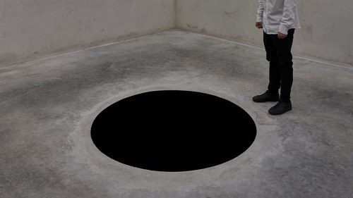 A photo of Anish Kapoor's Descent into Limbo