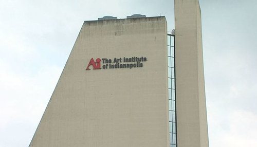 The exterior of the Art Institute of Indianapolis as of 2018