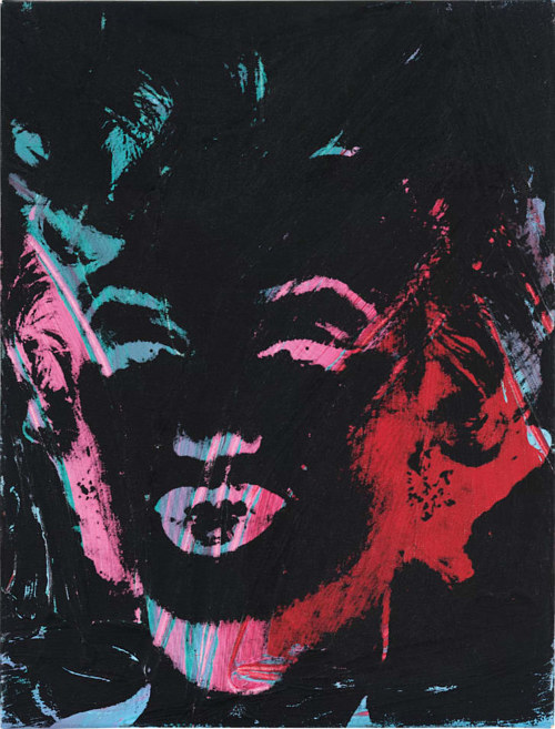 A Marilyn Monroe artwork by Andy Warhol being sold on Masterworks