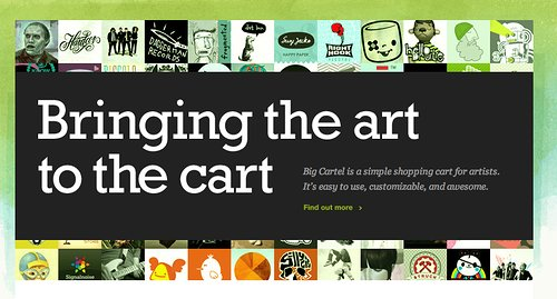 Bringing art to the cart
