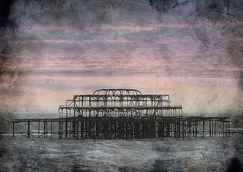 Photo on archival paper of Brighton Pier