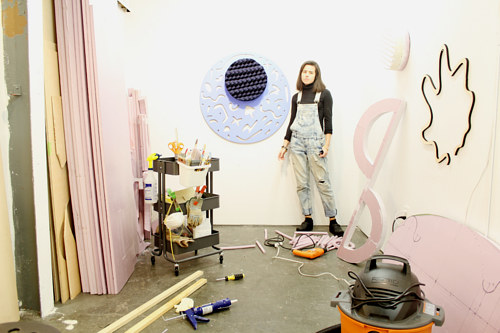 A photo of Amanda Martinez in her studio