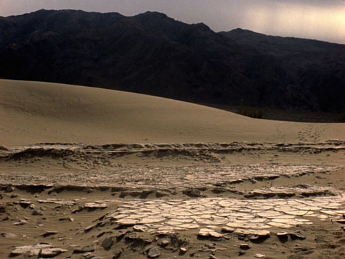 A still from a video of Death Valley