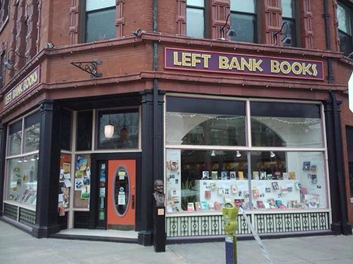 Exterior of Left Bank Book store