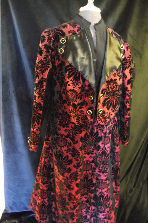 A handmade women's coat for a theatrical costume