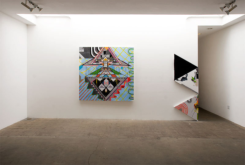 Installation view, –(\DARKHOR5E/)– 2012 at Western Project by Brian Porray