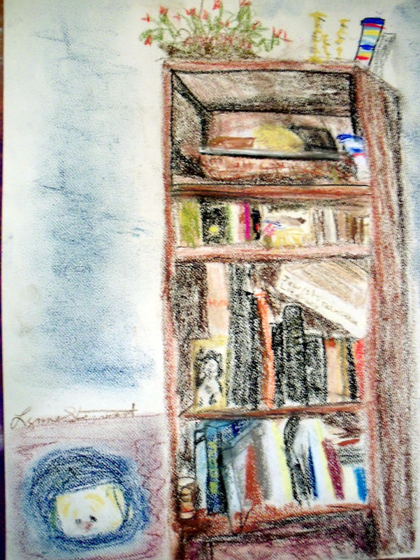 The Bookcase by Lynne Stewart