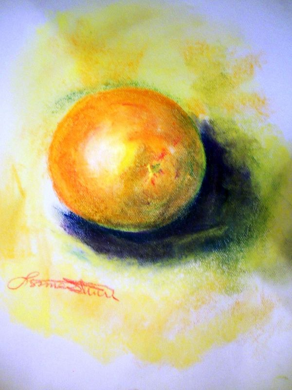 Orange by Lynne Stewart