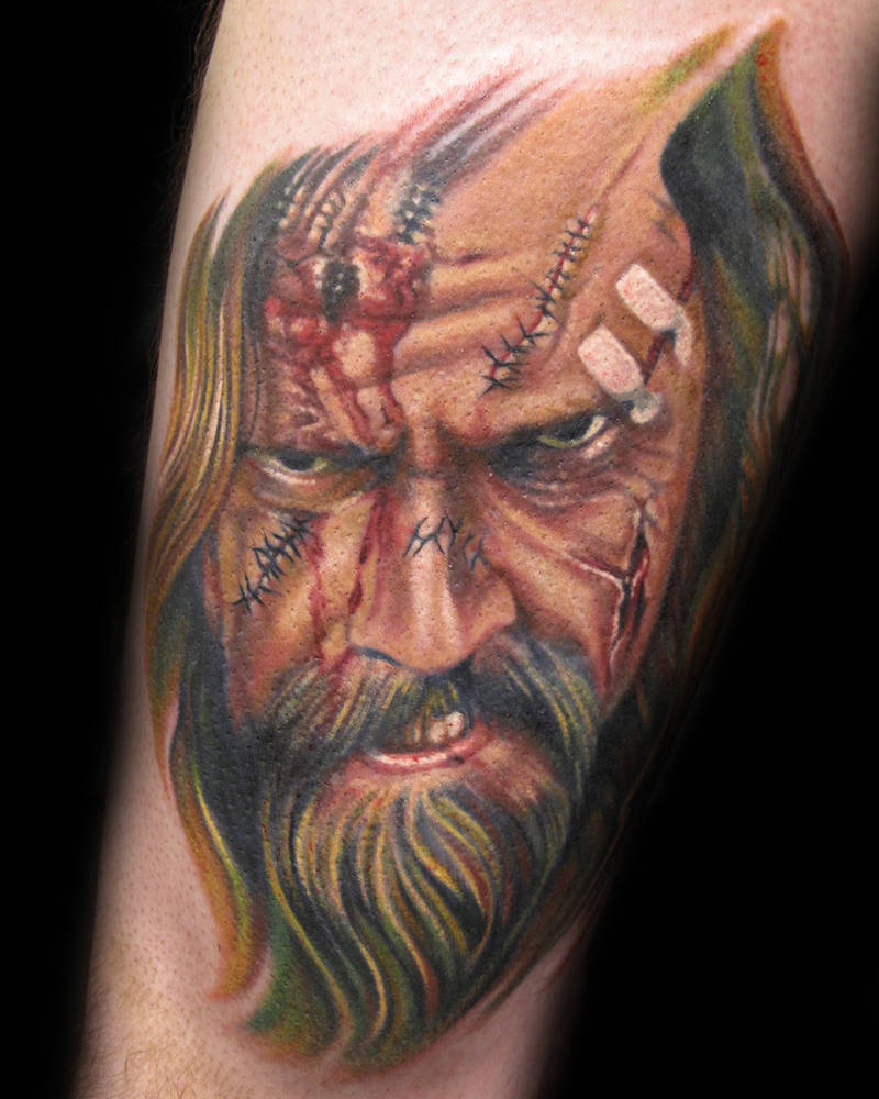 Rob Zombie Tattoo Kelowna B.C. by Erin  Burge