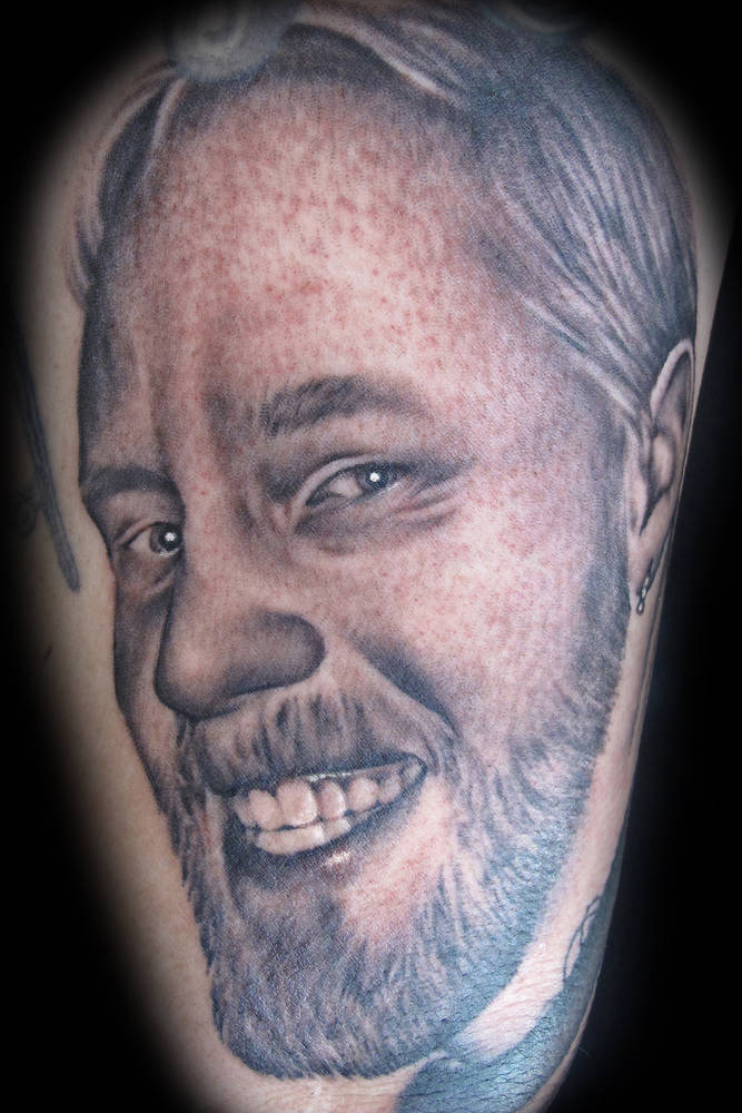 Mike Pierce Tattoo Kelowna B.C. by Erin  Burge