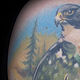 Falcon Moose Tattoo Kelowna B.C. by Erin  Burge