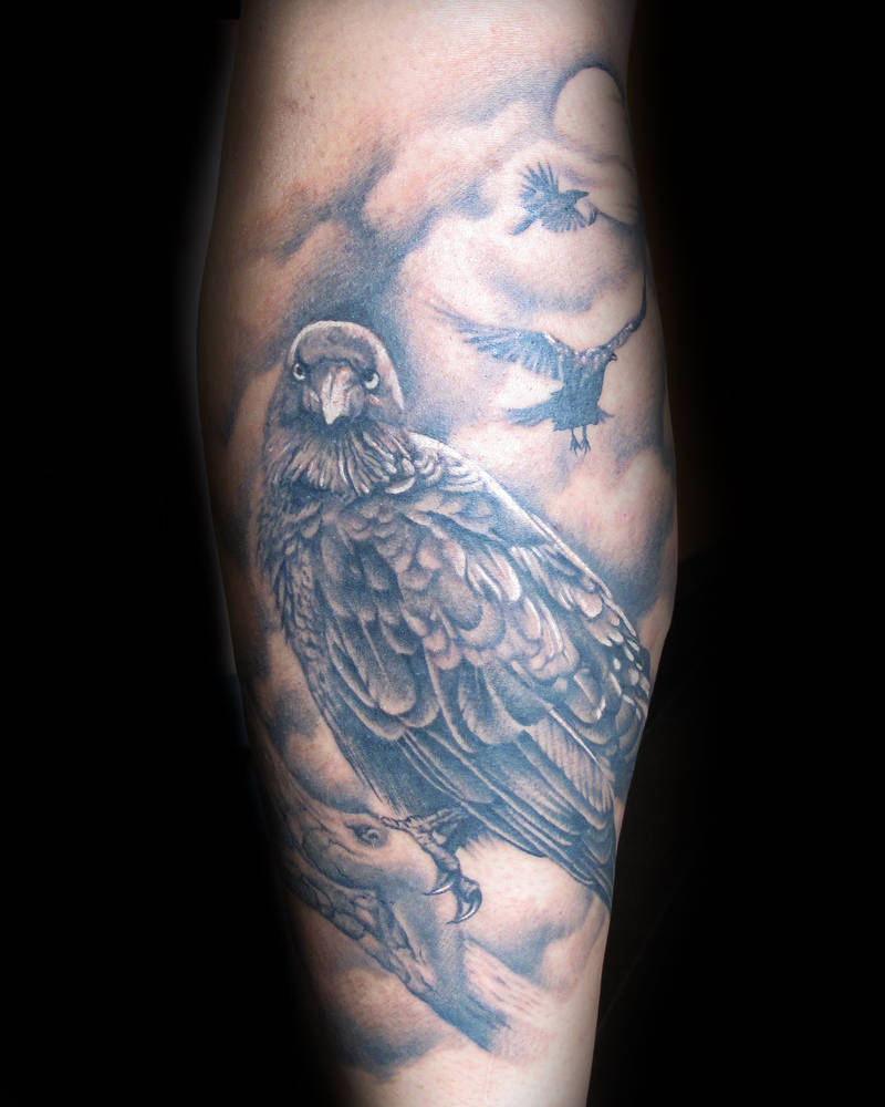 Crows Tattoo Kelowna B.C. by Erin  Burge