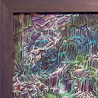 "Watercolor ""Orpheus Descending into the UnderWorld"" by Kenneth M Ruzic"